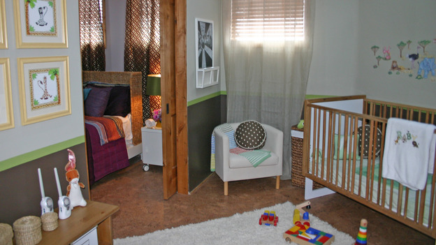 "EXTREME MAKEOVER HOME EDITION - ""Yazzie Family"" - Nursery, on ""Extreme Makeover Home Edition,"" Sunday, October 28th on the ABC Television Network."