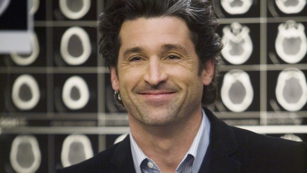 "GREY'S ANATOMY - ""Elevator Love Letter"" - Derek prepares to propose to Meredith, on ""Grey's Anatomy,"" THURSDAY, MARCH 26 (9:00-10:02 p.m., ET) on the ABC Television Network. (ABC/RANDY HOLMES) PATRICK DEMPSEY"
