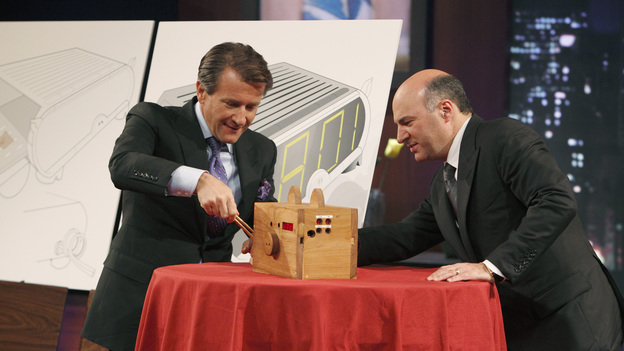 SHARK TANK - &quot;Episode 202&quot; - Season Two of &quot;Shark Tank&quot; promises to make TV history with the Sharks offering over $10 million in investment deals to bankroll a creative array of innovative entrepreneurs. This season, high tech billionaire entrepreneur Mark Cuban and successful comedian and self-made businessman Jeff Foxworthy jump into the Tank to appear separately in the show's nine episodes. The Season Premiere, &quot;Episode 202,&quot; airs FRIDAY, MARCH 25 (8:00-9:00 p.m., ET) on ABC. (ABC/CRAIG SJODIN)ROBERT HERJAVEC, KEVIN O'LEARY