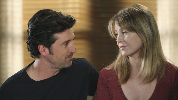 "GREY'S ANATOMY - ""Start Me Up"" - Arizona seeks Mark's advice as she tries to reconcile with Callie, who has big news of her own; Teddy must make a key decision for Henry during his surgery; and on the same day the residents receive a new crop of interns, the Chief announces he is looking for a new Chief Resident, on ""Grey's Anatomy,"" THURSDAY, JANUARY 13 (9:00-10:01 p.m., ET) on the ABC Television Network. (ABC/DANNY FELD) PATRICK DEMPSEY, ELLEN POMPEO"