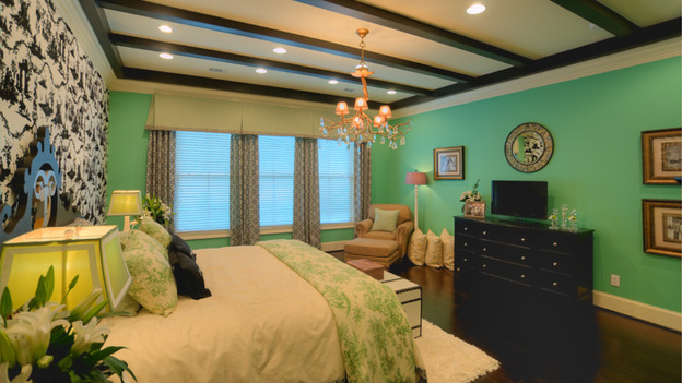 "EXTREME MAKEOVER HOME EDITION - ""Dickinson Family,"" - Master Bedroom Picture, on  ""Extreme Makeover Home Edition,"" Sunday, May 1st    (8:00-9:00 p.m.  ET/PT) on the ABC Television Network."
