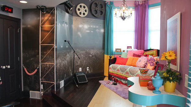 "EXTREME MAKEOVER HOME EDITION - ""Arboleda Family,"" - Girl's Bedroom Pictures, on ""Extreme Makeover Home Edition,"" Sunday, October 17th(8:00-9:00 p.m. ET/PT) on the ABC Television Network."