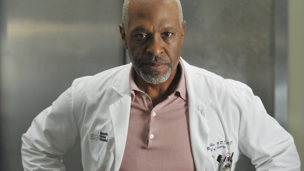 "GREY'S ANATOMY - ""Here Comes the Flood"" - The Chief surveys the damage caused by a burst pipe, on ""Grey's Anatomy,"" THURSDAY, OCTOBER 9 (9:00-10:01 p.m., ET) on the ABC Television Network. (ABC/ERIC McCANDLESS) JAMES PICKENS JR."