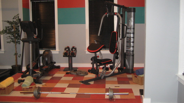 "EXTREME MAKEOVER HOME EDITION - ""Drumm Family,"" - Workout Room, on ""Extreme Makeover Home Edition,"" Sunday, January 18th on the ABC Television Network."