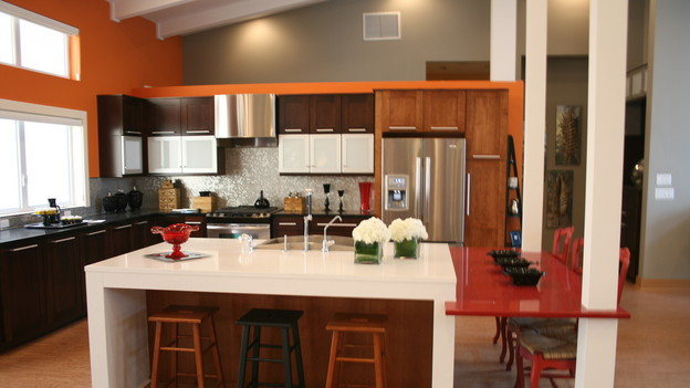 "EXTREME MAKEOVER HOME EDITION - ""Wagstaff Family,"" - Kitchen, on ""Extreme Makeover Home Edition,"" Sunday, February 21st on the ABC Television Network."