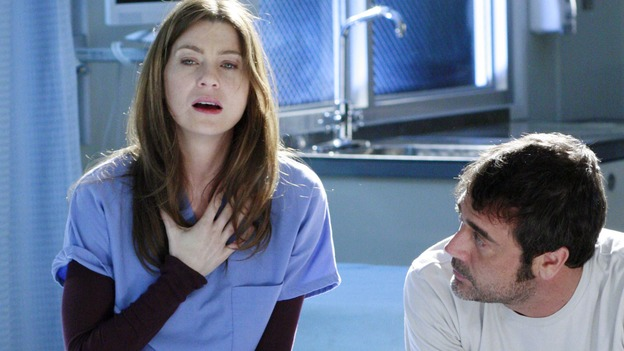 GREY'S ANATOMY - &quot;Some Kind of Miracle&quot; - One person's fight to live affects everyone at Seattle Grace, in the dramatic conclusion to &quot;Grey's Anatomy's&quot; three-episode story arc. &quot;Some Kind of Miracle&quot; airs THURSDAY, FEBRUARY 22 (9:00-10:01 p.m., ET) on the ABC Television Network. Elizabeth Reaser (Independent Spirit Award nominee for &quot;Sweet Land&quot;) guest stars as a patient. (ABC/RON TOM)ELLEN POMPEO, JEFFREY DEAN MORGAN