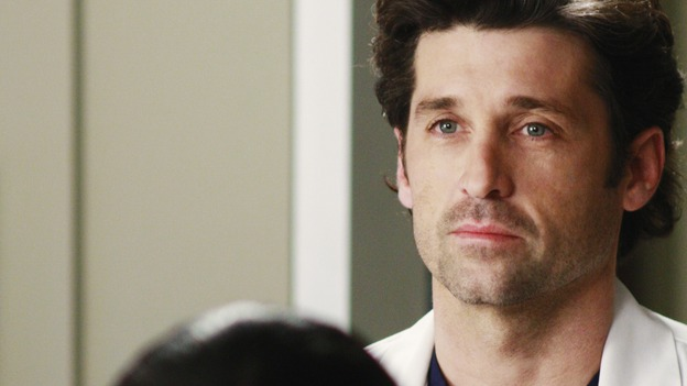 "GREY'S ANATOMY - ""Before and After"" - Dr, Derek Shepherd, on ""Grey's Anatomy,"" THURSDAY, FEBRUARY 12 (9:00-10:02 p.m., ET) on the ABC Television Network. (ABC/RON TOM) AUDRA MCDONALD, PATRICK DEMPSEY"