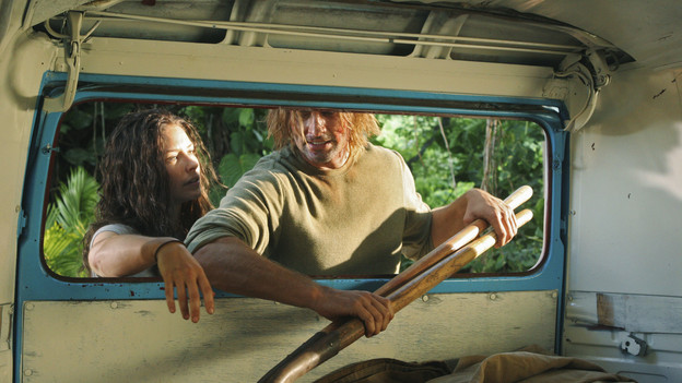 "LOST - ""LA X"" - ""Lost"" returns for its final season of action-packed mystery and adventure -- that will continue to bring out the very best and the very worst in the people who are lost -- on the season premiere of ""Lost,"" TUESDAY, FEBRUARY 2 (9:00-11:00 p.m., ET) on the ABC Television Network. On the season premiere episode, ""LA X"" Parts 1 & 2, the aftermath from Juliet's detonation of the hydrogen bomb is revealed. (ABC/MARIO PEREZ) EVANGELINE LILLY, JOSH HOLLOWAY"