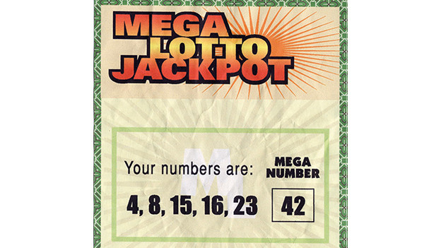 "Hurley's winning Mega Lotto Jackpot ticket The winning $114 million Mega Lotto Jackpot ticket with the numbers 4, 8, 15, 16, 23 and mega number 42 -- numbers that recur throughout the series. Hurley buys the ticket while still working for Mr. Clucks. Rather than being happy with winning the lottery, Hurley considers it a curse and fears that his life will change. Seeing the numbers again on the Island only confirms his belief in this unexplainable curse.Related content:EPISODE RECAP - ""NUMBERS"""