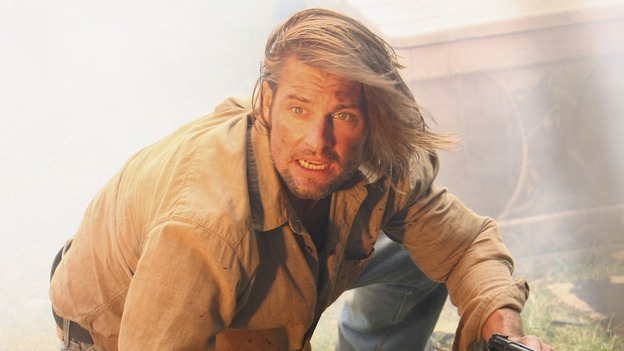 "LOST - ""The Shape of Things to Come"" - Locke's camp comes under attack, and Jack tries to discover the identity of a body that has washed ashore, on ""Lost,"" THURSDAY, APRIL 24 (10:01-11:00 p.m., ET) on the ABC Television Network. (ABC/MARIO PEREZ)JOSH HOLLOWAY"