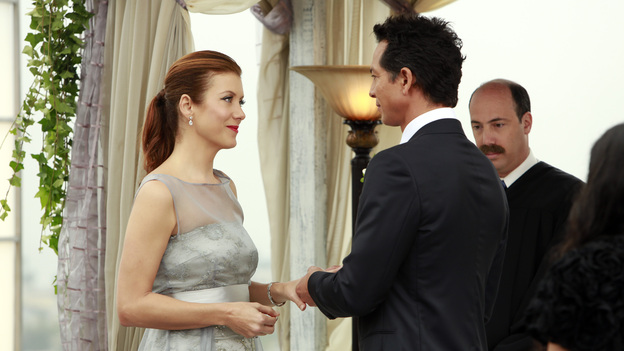 PRIVATE PRACTICE - &quot;In Which We Say Goodbye&quot; - ABC's hit drama &quot;Private Practice&quot; will end its run with a special farewell to the beloved doctors of Seaside Health and Wellness. Naomi returns to stand by Addison's side on her wedding day, Cooper struggles with the hardships of being a stay-at-home father, and Violet begins a new project close to her heart, on the Series Finale of &quot;Private Practice,&quot; TUESDAY, JANUARY 22 (10:00-11:00 p.m., ET) on the ABC Television Network. (ABC/RON TOM)KATE WALSH, BENJAMIN BRATT, KEVIN KOSTER