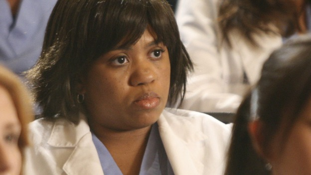"GREY'S ANATOMY - ""Here Comes the Flood"" - Bailey listens as the Chief lays out his new rules for SGH, on ""Grey's Anatomy,"" THURSDAY, OCTOBER 9 (9:00-10:01 p.m., ET) on the ABC Television Network. (ABC/DANNY FELD) CHANDRA WILSON"