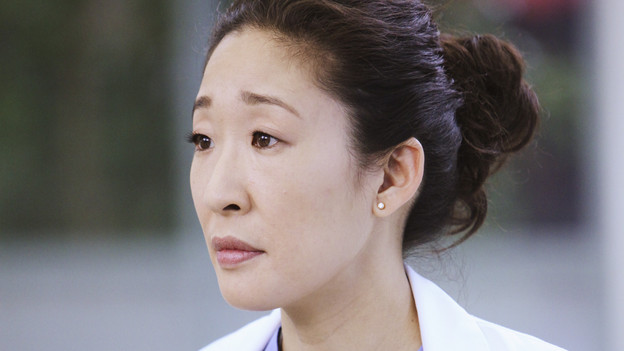 "GREY'S ANATOMY - ""State of Love and Trust"" - As Derek begins his role as interim chief, he faces a potential lawsuit when Bailey and Meredith's patient awakens from anesthesia mid-surgery. Meanwhile, Teddy refuses to place Cristina on her service, as Arizona tests Alex out in Pediatrics, and Mark refuses to speak to a heartbroken Lexie, on ""Grey's Anatomy,"" THURSDAY, FEBRUARY 4 (9:00-10:01 p.m., ET) on the ABC Television Network. (ABC/ADAM LARKEY) SANDRA OH"