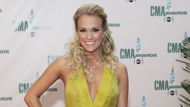 THE 42ND ANNUAL CMA AWARDS - ARRIVALS - &quot;The 42nd Annual CMA Awards&quot; will be broadcast live from the Sommet Center in Nashville, WEDNESDAY, NOVEMBER 12 (8:00-11:00 p.m., ET) on the ABC Television Network. (ABC/ADAM LARKEY)CARRIE UNDERWOOD