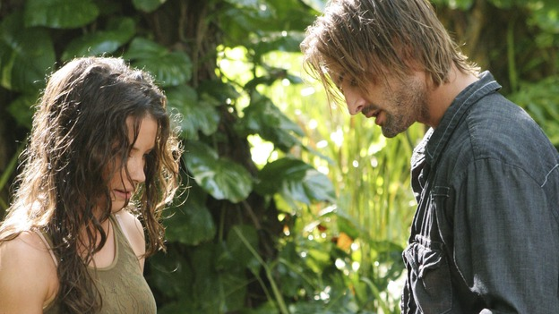 "LOST - ""The Long Con"" (ABC/MARIO PEREZ)EVANGELINE LILLY, JOSH HOLLOWAY"