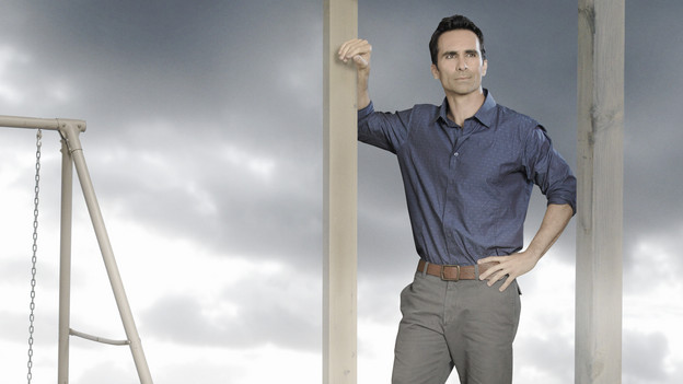 "LOST - ABC's ""Lost"" stars Nestor Carbonell as Richard Alpert. (ABC/BOB D'AMICO)"