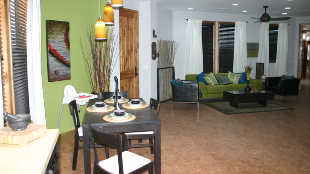 "EXTREME MAKEOVER HOME EDITION - ""Yazzie Family"" - Dining and Living Room, on ""Extreme Makeover Home Edition,"" Sunday, October 28th on the ABC Television Network."