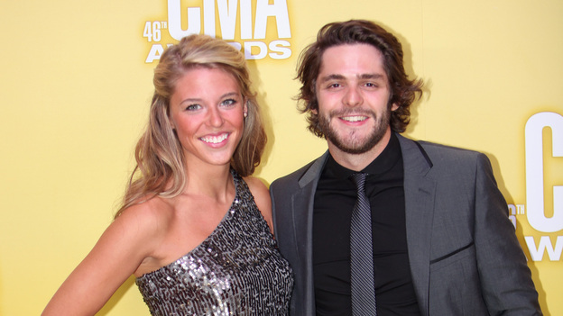 "THE 46TH ANNUAL CMA AWARDS - RED CARPET ARRIVALS - ""The 46th Annual CMA Awards"" airs live THURSDAY, NOVEMBER 1 (8:00-11:00 p.m., ET) on ABC live from the Bridgestone Arena in Nashville, Tennessee. (ABC/SARA KAUSS)THOMAS RHETT"