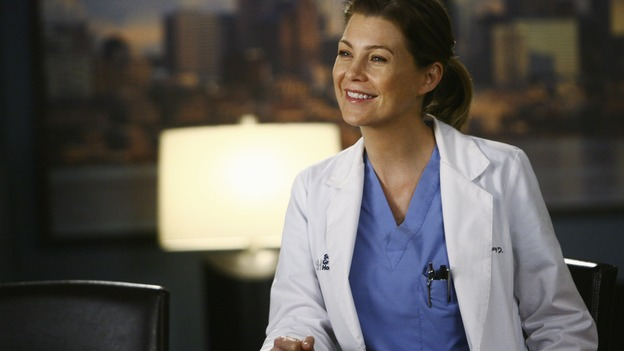"GREY'S ANATOMY - ""Now or Never"" - Dr. Meredith Grey, on ""Grey's Anatomy"" THURSDAY, MAY 14 (9:00-11:00 p.m., ET) on the ABC Television Network. ELLEN POMPEO"