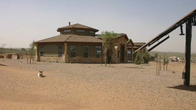 EXTREME MAKEOVER HOME EDITION - &quot;Yazzie Family&quot; - Exterior, on &quot;Extreme Makeover Home Edition,&quot; Sunday, October 28th on the ABC Television Network.