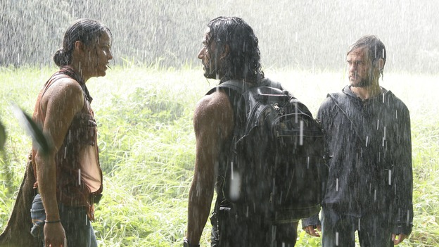 "LOST - ""The Whole Truth"" (ABC/ADAM LARKEY)MICHELLE RODRIGUEZ, NAVEEN ANDREWS, DOMINIC MONAGHAN"