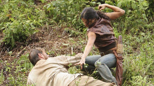 "LOST - ""The Other 48 Days"" (ABC/MARIO PEREZ)BRETT CULLEN, MICHELLE RODRIGUEZ"
