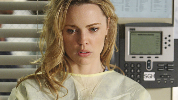 "GREY'S ANATOMY - ""These Ties That Bind"" - New Intern, Sadie Harris, gets her first taste of doctoring at Seattle Grace, on ""Grey's Anatomy,"" THURSDAY, NOVEMBER 13 (9:00-10:01 p.m., ET) on the ABC Television Network. (ABC/CRAIG SJODIN) MELISSA GEORGE"