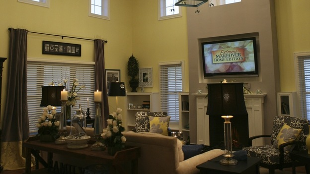 "EXTREME MAKEOVER HOME EDITION - ""Tutwiler Family,"" - Living Room, on ""Extreme Makeover Home Edition,"" Sunday, January 25th on the ABC Television Network."