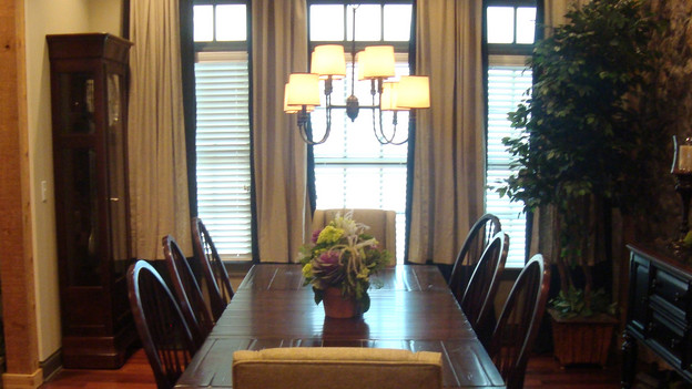 "EXTREME MAKEOVER HOME EDITION - ""Mattingly Family,"" - Dining Room, on ""Extreme Makeover Home Edition,"" Sunday, November 1st, on the ABC Television Network."