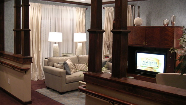 EXTREME MAKEOVER HOME EDITION - &quot;Riggins Family,&quot; -  Living Room, on &quot;Extreme Makeover Home Edition,&quot; Sunday, January 21th on the ABC Television Network.