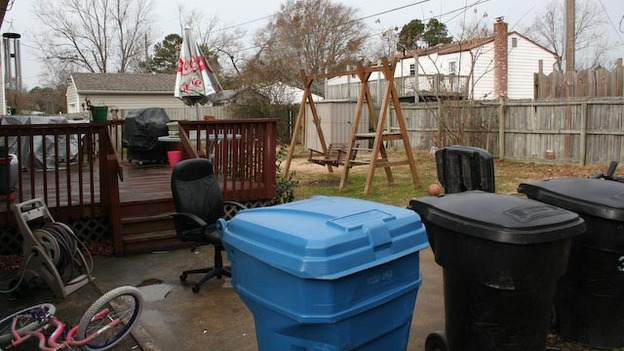 EXTREME MAKEOVER HOME EDITION - &quot;Hill Family,&quot; - Before  Picture, on &quot;Extreme Makeover Home Edition,&quot; Sunday, April 24th     (8:00-9:00 p.m. ET/PT) on the ABC Television Network.