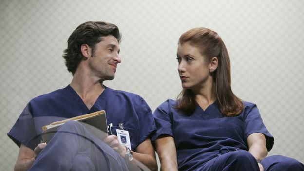GREY'S ANATOMY - &quot;Owner of a Lonely Heart&quot; (ABC/CRAIG SJODIN) PATRICK DEMPSEY, KATE WALSH
