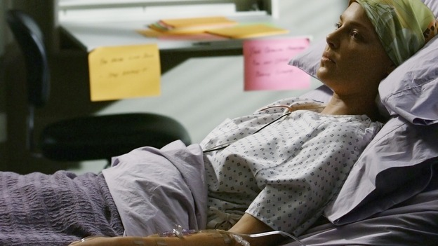 "GREY'S ANATOMY - ""Now or Never"" - Dr. Izzie Stevens recovers from her recent brain surgery, on ""Grey's Anatomy,"" THURSDAY, MAY 14 (9:00-11:00 p.m., ET) on the ABC Television Network. KATHERINE HEIGL"