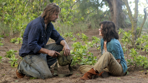"LOST - ""Recon"" - Locke tasks Sawyer with a mission, on ""Lost,"" TUESDAY, MARCH 23 (9:00-10:00 p.m., ET) on the ABC Television Network.  (ABC/MARIO PEREZ)JOSH HOLLOWAY, SHEILA KELLEY"