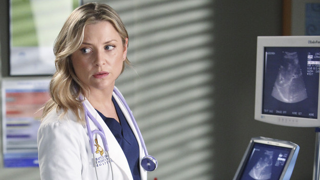 GREY'S ANATOMY - &quot;Push&quot; - A patient who needs an extremely difficult surgery comes to Seattle Grace, and it's Richard and Owen who vie for the opportunity to tackle it. But the decision lies in the hands of Derek, who deems that Owen should take on the surgery, leaving Richard bitter. Meanwhile, Bailey deals with her own personal struggles when she nervously prepares for another date with Ben, on &quot;Grey's Anatomy,&quot; THURSDAY, MARCH 11 (9:00-10:01 p.m., ET) on the ABC Television Network. (ABC/ADAM LARKEY)JESSICA CAPSHAW, AIDAN WALTER