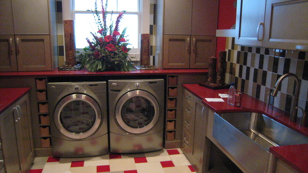 EXTREME MAKEOVER HOME EDITION - &quot;Jacobo Family,&quot; - Laundry Room, on &quot;Extreme Makeover Home Edition,&quot; Sunday, May 13th on the ABC Television Network.