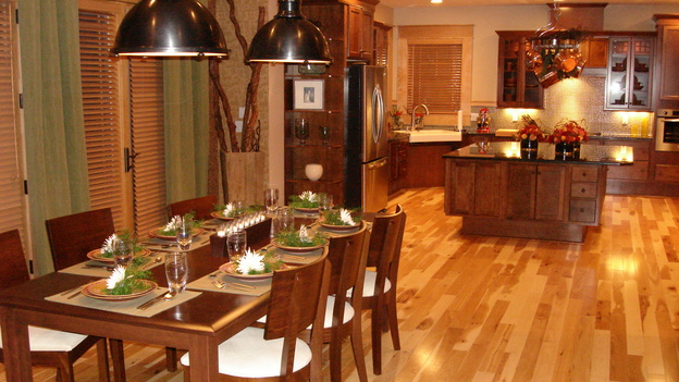 "EXTREME MAKEOVER HOME EDITION - ""Westbrook Family,"" - Dining Room, on ""Extreme Makeover Home Edition,"" Sunday, April 22nd on the ABC Television Network."