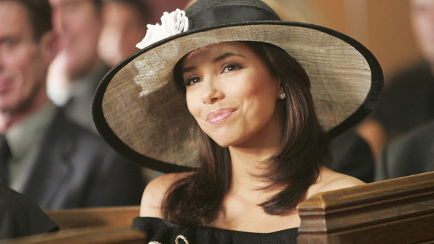 "DESPERATE HOUSEWIVES ""Next"" - Gaby at Rex's funeral. - (ABC/VIVIAN ZINK) EVA LONGORIA"