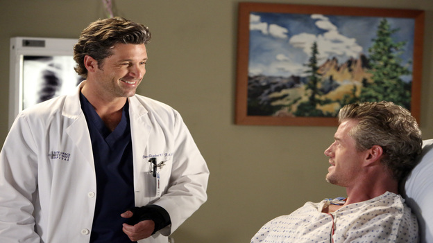 "GREY'S ANATOMY - ""Remember the Time"" - (ABC/DANNY FELD)PATRICK DEMPSEY, ERIC DANE"