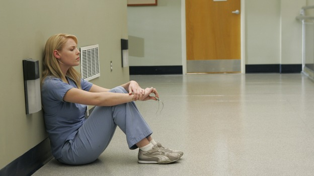 "GREY'S ANATOMY - ""It's the End of the World (As We Know It)"" (ABC/PETER ""HOPPER"" STONE)KATHERINE HEIGL"