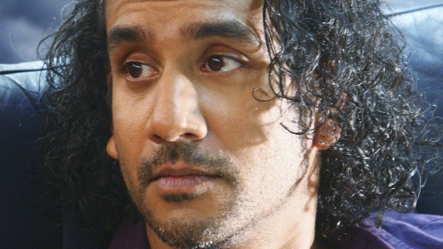 "LOST - ""316"" - Sayid sits anxiously aboard Ajira 316, fearing the strange circumstances surrounding the flight could return him to the island, on ""Lost,"" WEDNESDAY, FEBRUARY 18 on the ABC Television Network. NAVEEN ANDREWS"