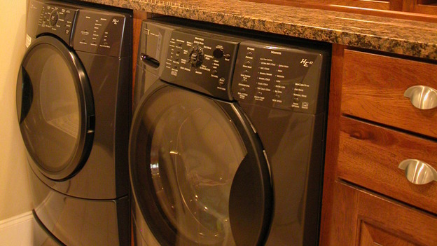 "EXTREME MAKEOVER HOME EDITION - ""Hawkins Family,"" - Laundry Room, on ""Extreme Makeover Home Edition,"" Sunday, October 8th on the ABC Television Network."