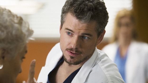 GREY'S ANATOMY - &quot;Sympathy for the Devil&quot; - Mark can't hide his secret romance with Lexie Grey from the intuition of Carolyn Shepherd, on &quot;Grey's Anatomy,&quot; THURSDAY, JANUARY 15 (9:00-10:01 p.m., ET) on the ABC Television Network. (ABC/RANDY HOLMES) ERIC DANE