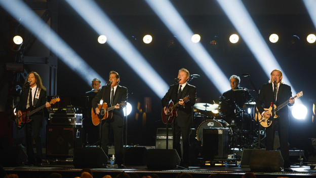 "THE 42ND ANNUAL CMA AWARDS - THEATRE - ""The 42nd Annual CMA Awards"" aired live from the Sommet Center in Nashville, WEDNESDAY, NOVEMBER 12 (8:00-11:00 p.m., ET) on the ABC Television Network. (ABC/CHRIS HOLLO)EAGLES"