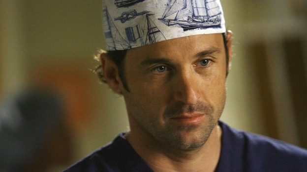 GREY'S ANATOMY - &quot;Piece of My Heart&quot; - Addison returns to Seattle Grace to perform an operation and is taken aback by all of the changes in her old co-workers' lives. Meanwhile Meredith and Derek's clinical trial has its first patient, and Rebecca/Ava returns with shocking news for Alex, on &quot;Grey's Anatomy,&quot; THURSDAY, MAY 1 (9:00-10:01 p.m., ET) on the ABC Television Network.  (ABC/SCOTT GARFIELD)PATRICK DEMPSEY