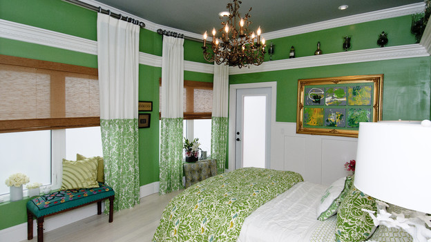 "EXTREME MAKEOVER HOME EDITION - ""Lutz Family,"" - Master Bedroom Pictures, on ""Extreme Makeover Home Edition,"" Sunday, October 3rd(8:00-9:00 p.m. ET/PT) on the ABC Television Network."