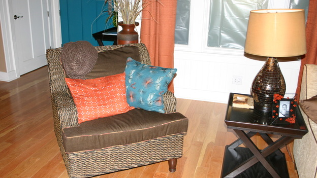 "EXTREME MAKEOVER HOME EDITION - ""Ripatti Family,"" - Living Room Details, on ""Extreme Makeover Home Edition,"" Sunday, December 10th on the ABC Television Network."