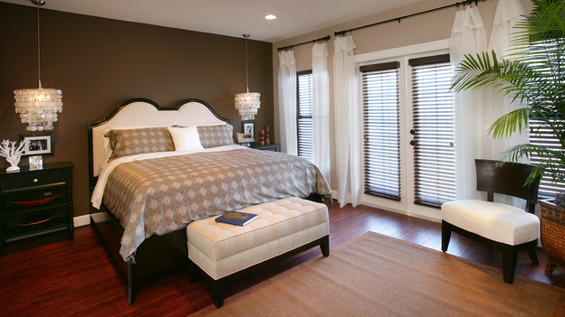 "EXTREME MAKEOVER HOME EDITION - ""Tate Family,"" -  Master Bedroom, on ""Extreme Makeover Home Edition,"" Sunday, March 4th on the ABC Television Network."