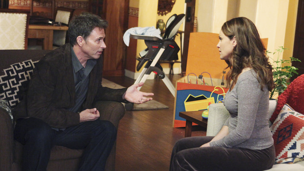 PRIVATE PRACTICE - &quot;...To Change the Things I Can&quot; - The doctors of Oceanside Wellness are faced with a tough decision -- to point out all areas of vulnerability within the practice and risk the termination of some of their own, or to dissolve the practice and each go their separate way. Addison has a new admirer in town who offers her a very tempting proposition. Meanwhile, Charlotte is assigned to a case that hits very close to home, on the Season Finale of &quot;Private Practice,&quot; THURSDAY, MAY 19 (10:01-11:00 p.m., ET) on the ABC Television Network.  (ABC/DANNY FELD)TIM DALY, AMY BRENNEMAN