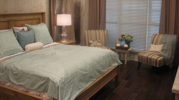 "EXTREME MAKEOVER HOME EDITION - ""Py Family,"" - Master Bedroom, on ""Extreme Makeover Home Edition,"" Sunday, April 30th on the ABC Television Network."